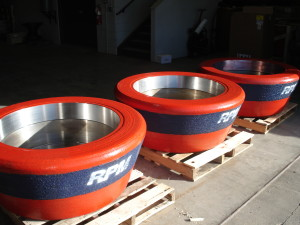 RPM Cast Steel Composite CE1043 Roll